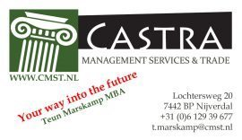 Castra Management Services & Trade  / Castra Holding BV